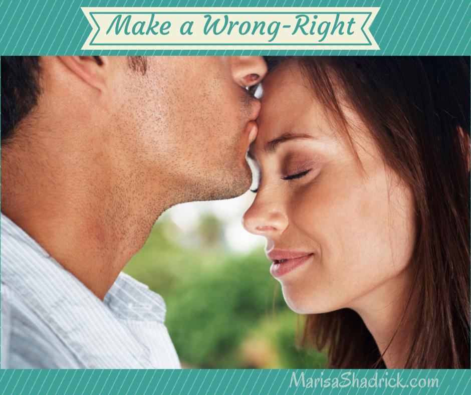 Make a Wrong-Right