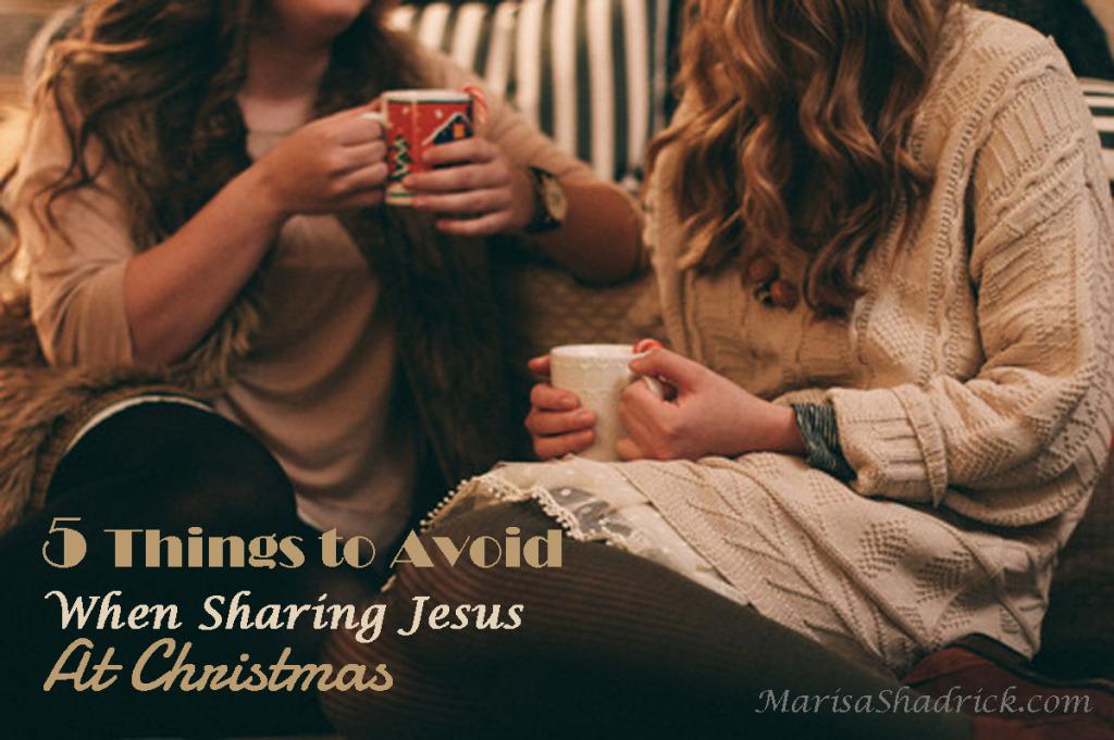 Share Jesus at Christmas