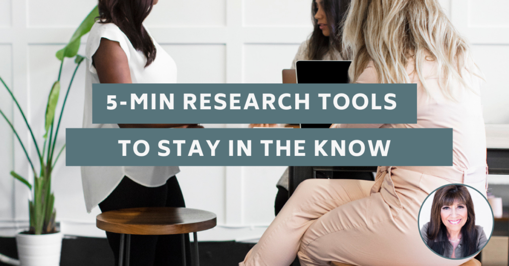 5-Min Research Tools to Stay in the Know